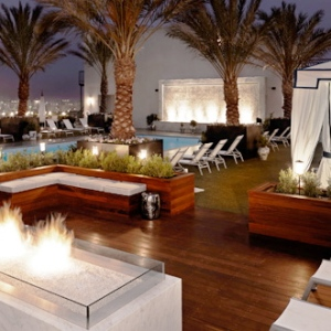 The London-West Hollywood-Rooftop Pool