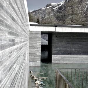 Therme Vals Spa-SWITZERLAND Indoor Pool 4
