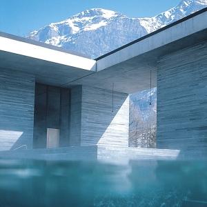 Therme Vals Spa-SWITZERLAND Indoor Pool 5