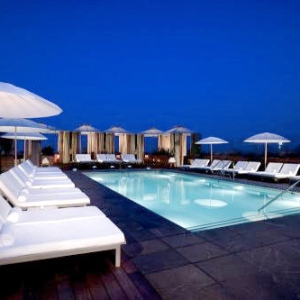 Thompson Beverly HIlls-LA-Rooftop Pool 1